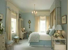 Perfect White Blue Master Bedroom Features Ceiling Painted A - Bedroom decorating ideas blue