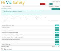 company policy document templates hiviz