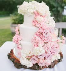 wedding cake flower pink flower wedding cake 9 122113 lindsay unique