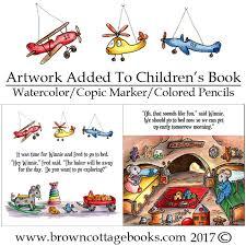 children u0027s illustration book sample brown cottage books