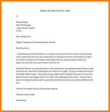medical assistant thank you letter original papers cover letter