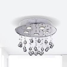 Light Crystal Chandelier Floating Bubble Chrome And White 5 Light Crystal Chandelier Free