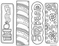 coloring bookmarks free 4th grade general pinterest
