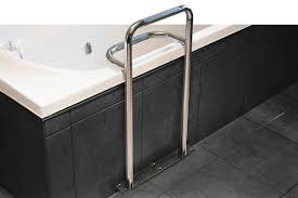 Bathroom Safety Bars by Stainless Steel Bath Safety Grab Rail Superquip Stainless