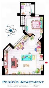 seinfeld apartment floor plan fascinating tv show apartment floor plans contemporary best
