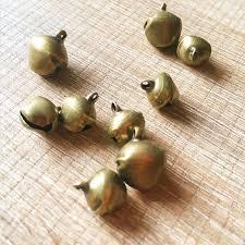 needle felting supplies bronze jingle bells bells