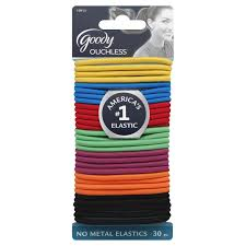 goody hair goody ouchless hair elastics candy coated 30 pcs