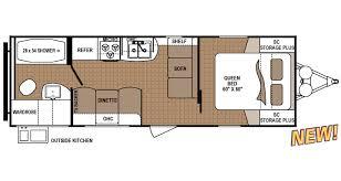 shop rvs by floor plan options veurinks u0027 rv bunk house rear