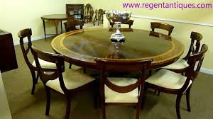 round mahogany dining table 03137 vintage english inlaid dining table 6ft round mahogany youtube