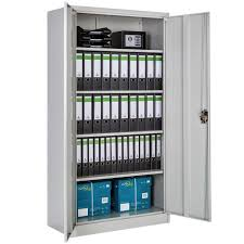 armoire bureau armoire de bureau meuble de classement de rangement à 4 etagères