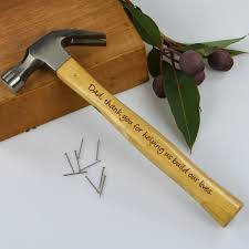 engraved wedding gifts ideas wedding engraved hammer personalized favors