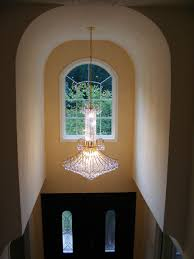 V A Chandelier by Whole House Remodel In Great Falls Va Bianco Renovations