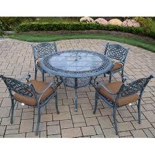 Aluminum Patio Furniture Sets - darlee santa monica 7 piece cast aluminum patio dining set darlee