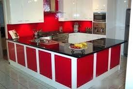 Red Tile Backsplash - dark red splashback tiles red kitchen splash back holt red