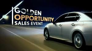 lexus jim falk hendrick lexus the golden opportunity sales event youtube