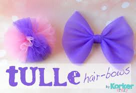 hair bow center tulle hair bows the hairbow center
