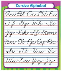 10 best images of cursive alphabet chart lowercase cursive