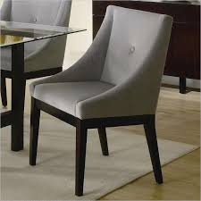 dining room winsome modern upholstered dining room chairs arm