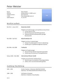 Lebenslauf Vorlage Inhalt Kurzprofil Lebenslauf Vorlage Muster Vorlage Ch