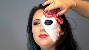 how to make zombie mask halloween youtube