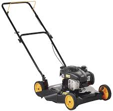 poulan pro 961120130 450e series 20 inch 4 5 hp manual push mower