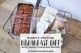breakfast gift baskets warm breakfast basket gift idea our handcrafted