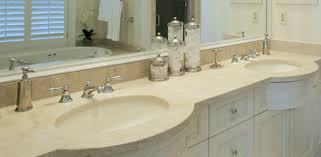 Granite Bathroom Vanity by Bathroom Vanity Countertop Options Today U0027s Homeowner