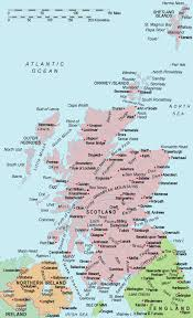map of and scotland scotland map maps of scotland