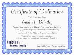 certificate of ordination template eliolera com