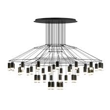 Chandelier Types Wireflow Chandelier 0376 Led Suspension Lamp Vibia