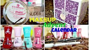 makeup advent calendar essence cosmetics makeup advent calendar unboxing 05 dec 2016