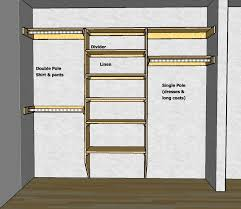 closet shelving layout u0026 design thisiscarpentry