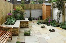 small paved gardens interior design ideas