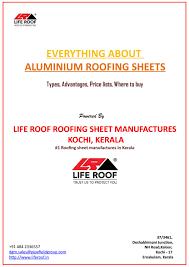 Everlast Roofing Sheet Price by Aluminium Roofing Sheet Price In Kerala Great Price Of Roofing