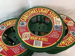 wrap n roll christmas light storage christmas more christmas new vintage decorations ornaments