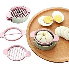 kitchen essential multifunction wheat straw cut egg slicers tools dividers preserved