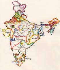 28 best map of india images on pinterest incredible india india