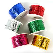 metallic ribbon 100yard lot wedding cake packing party practical colorful metallic