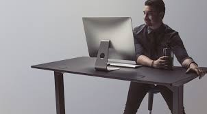 Standing And Sitting Desk Study Links Adjustable Sit Stand Desk At Work To A Longer