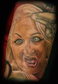 inkognito tattoos movie hatchet face tattoo