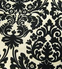 White And Black Damask Curtains Fabrics Ethreads Page 2
