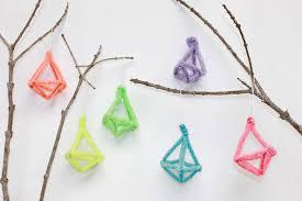 diy borax geometric ornaments handmade by