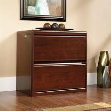 2 Drawer Lateral Wood File Cabinet Sauder Cornerstone 2 Drawer Lateral Wood File Cabinet In Classic