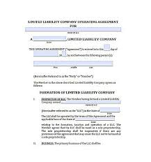 llc operating agreement free 23 llc operating agreement