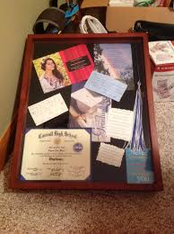 graduation shadow box my high school graduation shadow box diy projects