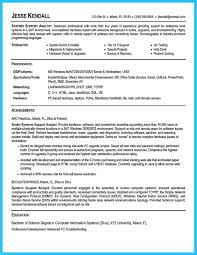 Best Java Resume Best Secrets About Creating Effective Business Systems Analyst Resume