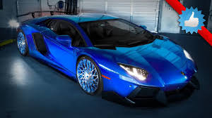 lamborghini limousine blue utterly insane lamborghini aventador by sr auto group youtube