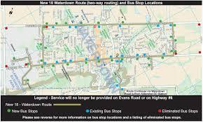 Via Bus Route Map 18 Waterdown Hamilton Transit Blog