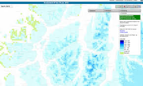 Snow Depth Map Online Resources Current Snow Depth In Tromsø Travel Stack