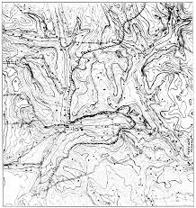 Topography Map File Psm V72 D507 Topographic Map Of Water Sources And Human